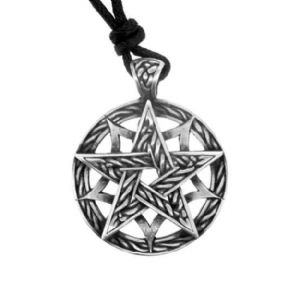 Celtic Unisex Pewter Pendant - The Path of Life 0710